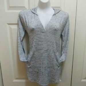 Banana Republic striped hoodie NWT